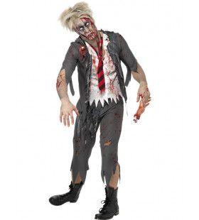 Horror Schooljongen Man Kostuum