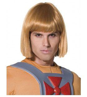 Officiele He-Man Pruik Volwassen