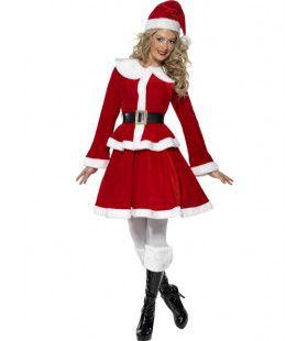Kerstvrouw Luxe Vrouw Kostuum