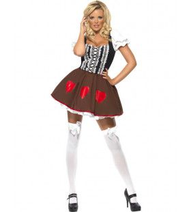 Sexy Heidi Vrouw Kostuum