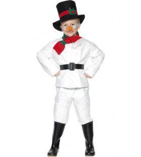 Kind Heer Sneeuwpop Kostuum Jongen