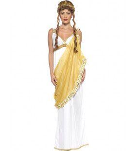 Helena Van Troje Griekse Godin Vrouw Kostuum