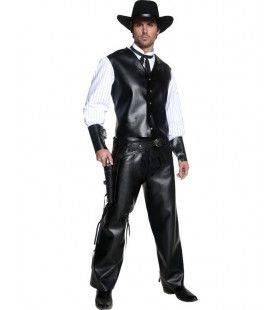 Cowboy Renegade Man Kostuum