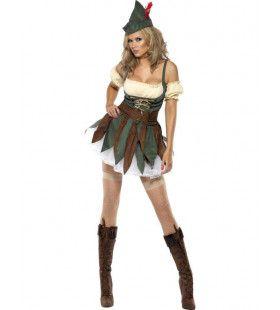 Sexy Robin Hoed Kostuum Vrouw