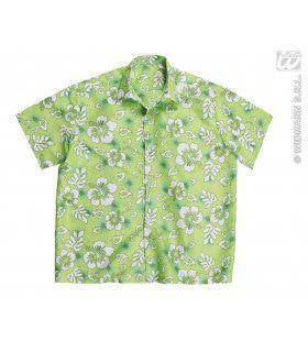 Hawaii Shirt Groen Man