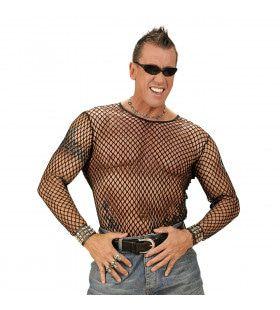 Shirt Visnet Zwart Man