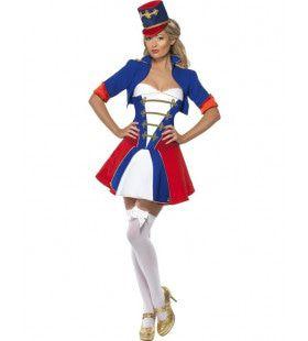 Engels Vrouw Kostuum