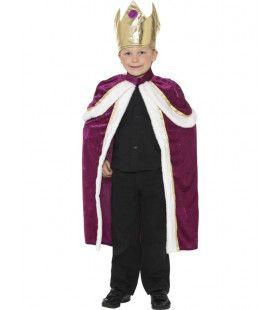 Kind Koning Kostuum Jongen
