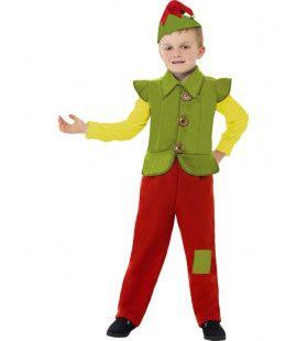 Kind Elf Jongen Kostuum