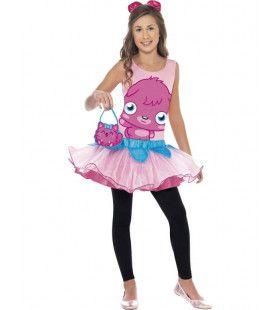 Kind Moshi Monsters Poppet Kostuum Meisje