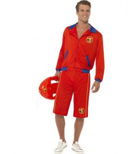 Heren Baywatch Man Kostuum