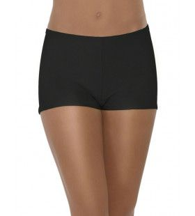 Zwarte Hot Pants