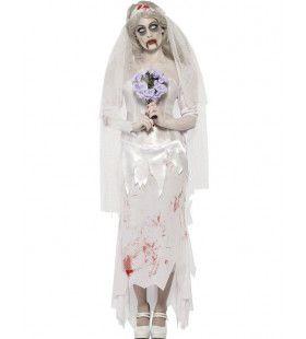 Dode Bruid Vrouw Kostuum
