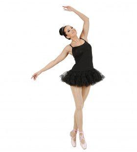 Prima Ballerina Zwart Vrouw Kostuum