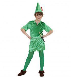 Peter Pan Jongen Kostuum