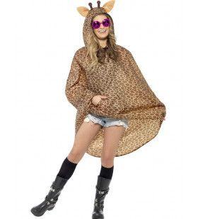 Giraffe Poncho Kostuum