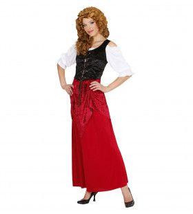 Vlaamse Taveerne Deerne Vrouw Kostuum