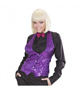 Las Vegas Show Pailletten Vest