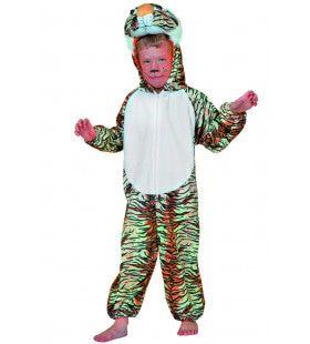 Snoezige Tijger Kostuum