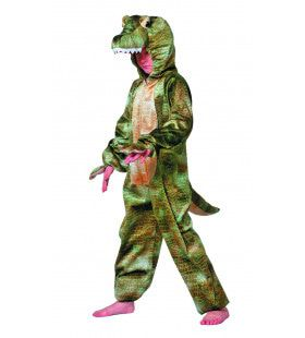 Snoezige Krokodil Jongen Kostuum
