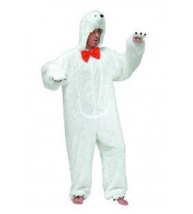 Gevaarlijke Pluche IJsbeer Man Kostuum