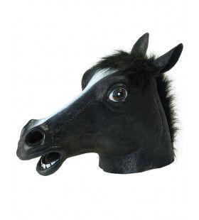 Paardenmasker Black Beauty