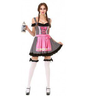Heet Bier Vrouw Kostuum