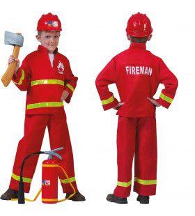 Brandweerheld Sam Jongen Kostuum