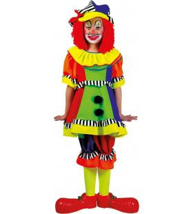 Olaffio Clown Meisje Kostuum