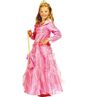 Roze Prinses Bella Rosa Meisje Kostuum