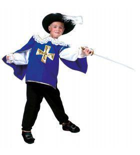 Musketier Muscat Kostuum Jongen