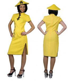 Shi Take China Vrouw Kostuum