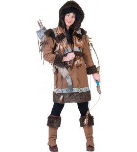 Eskimo Nalu Vrouw Kostuum