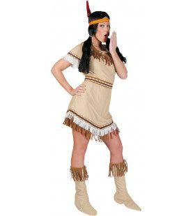 Sioux Sunrise Vrouw Kostuum