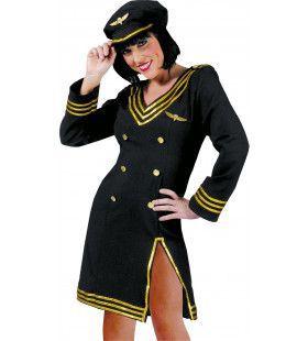 Skyhigh Piloot Vrouw Kostuum