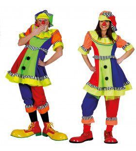 Olaffio Clown Vrouw Kostuum
