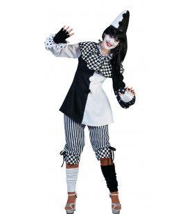 Clown Classico Vrouw Kostuum