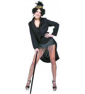 Broadway Star Fraq Jas Vrouw Kostuum
