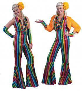 Ibiza Hippie Jumpsuit Vrouw Kostuum