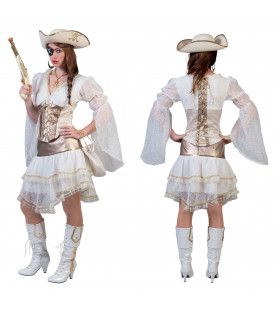 Piraat Estilo Navegador Jurk Vrouw