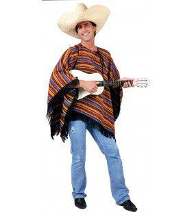 Hola Gringo Poncho Kostuum