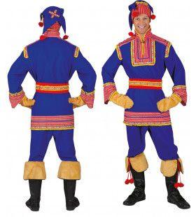 Saami De Tartaar Man Kostuum