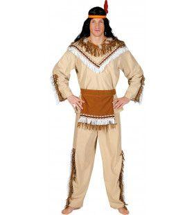 Sioux Sunrise Man Kostuum