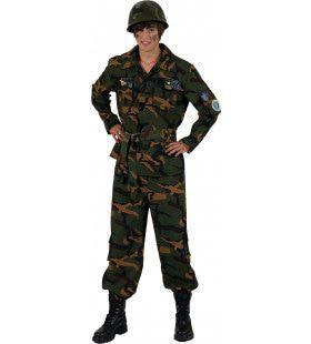 John Doe Militair Man Kostuum