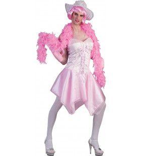 Prima Roze Tv Ballerina Man Kostuum