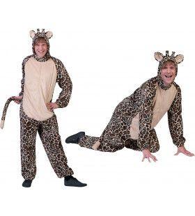 Savanna Giraf Onesie Man Kostuum