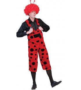 Buggy Lieveheersbeest Overall Man Kostuum
