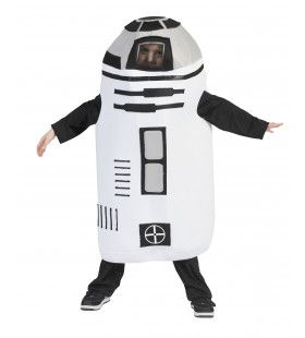Ronde Robot Uit De Ruimte Kostuum