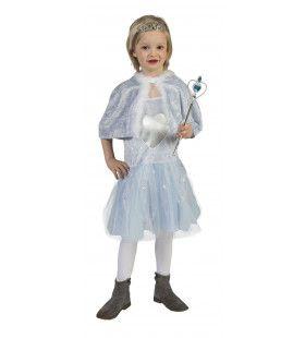 Blauwe IJskoningin Corazon Meisje Kostuum