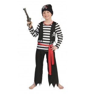 Piraat Dyon Jongen Kostuum